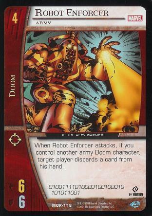 Robot Enforcer, Army