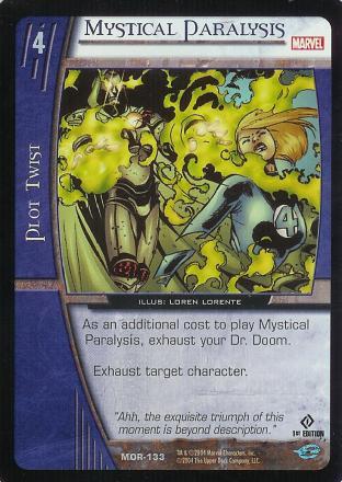 Mystical Paralysis