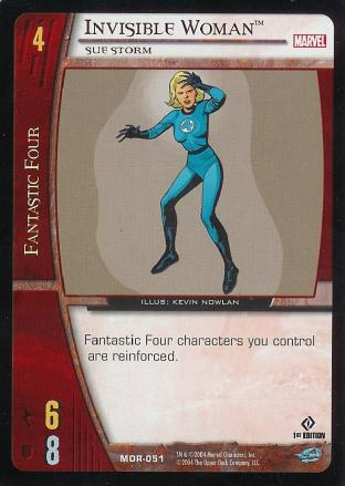 Invisible Woman, Sue Storm