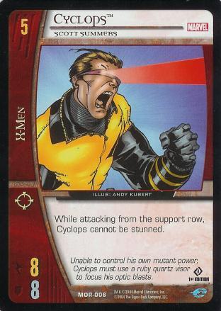 Cyclops, Scott Summers