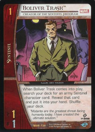 Boliver Trask, Creator of the Sentinel Program