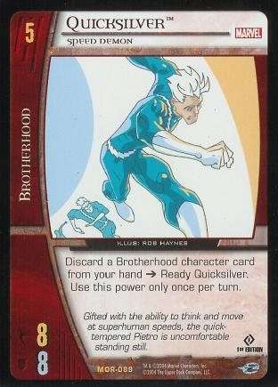 Quicksilver, Speed Demon