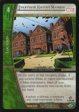 Professor Xavier's Mansion