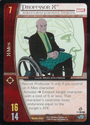Professor X, World's Most Powerful Telepath