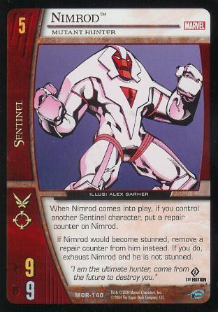 Nimrod, Mutant Hunter