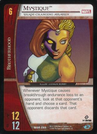 Mystique, Shape-Changing Assassin