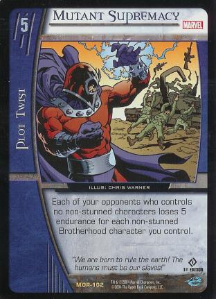 Mutant Supremacy