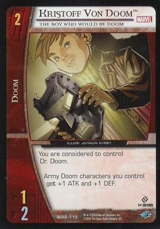 Kristoff Von Doom, The Boy Who Would Be Doom