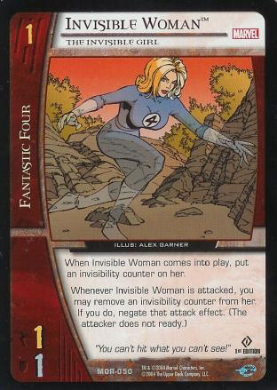 Invisible Woman, The Invisible Girl