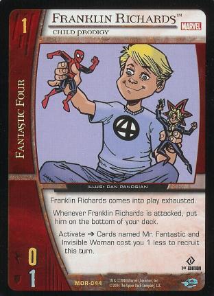 Franklin Richards, Child Prodigy