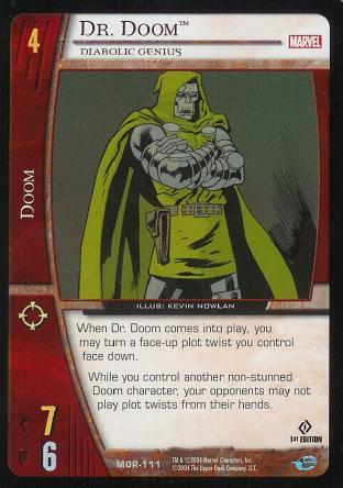 Dr. Doom, Diabolic Genius