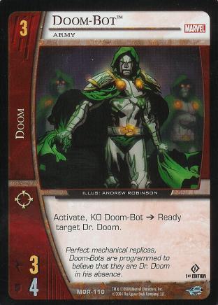 Doom-Bot, Army