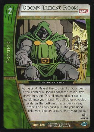 Doom's Throne Room