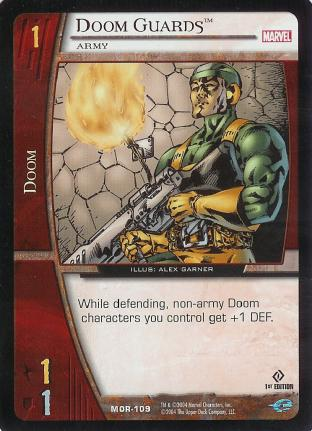 Doom Guards, Army