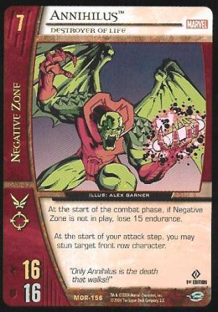 Annihilus, Destroyer of Life