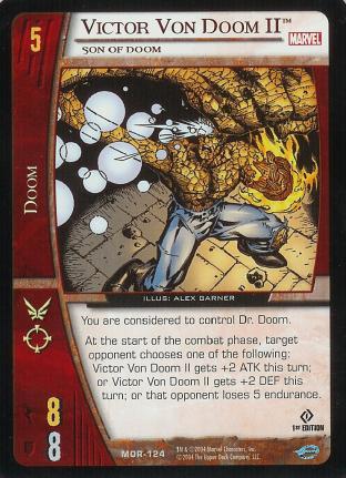 Victor Von Doom II, Son of Doom