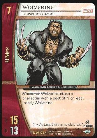 Wolverine, Berserker Rage