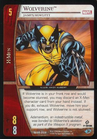 Wolverine, James Howlett