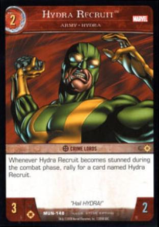 HYDRA Recruit, Army - HYDRA