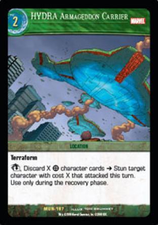 HYDRA Armageddon Carrier