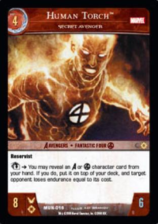 Human Torch, Secret Avenger