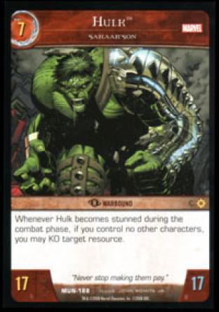 Hulk, Sakaar'Son