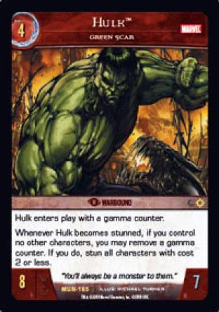 Hulk, Green Scar