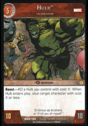 Hulk, Gladiator