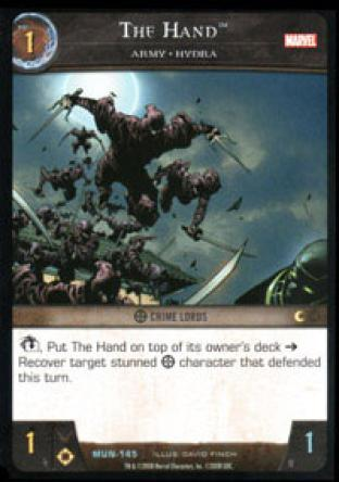 The Hand, Army - HYDRA