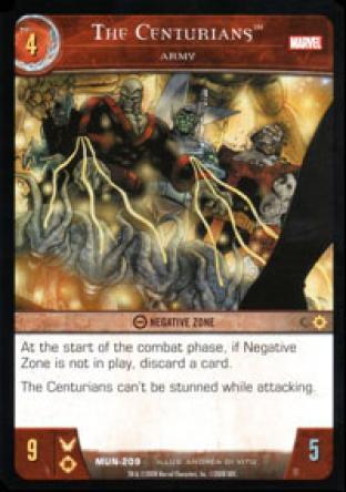 The Centurians, Army