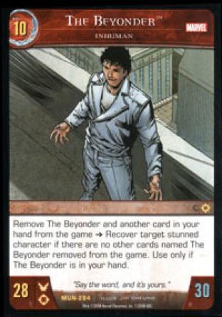 The Beyonder, Inhuman