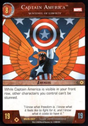 Captain America, Sentinel of Liberty