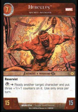 Hercules, Secret Avenger