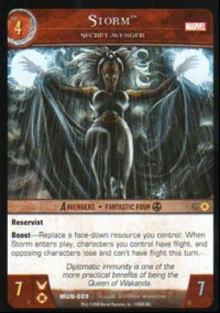 Storm, Secret Avenger