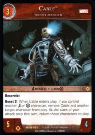 Cable, Secret Avenger