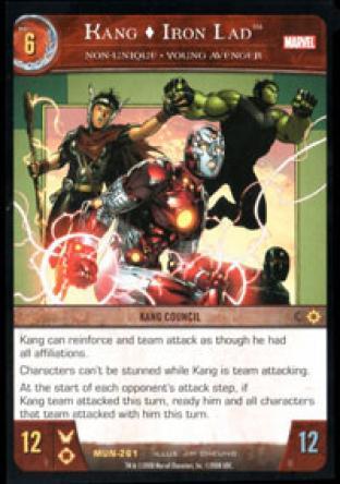 Kang, Iron Lad, Non-Unique - Young Avenger