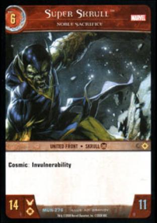 Super Skrull, Noble Sacrifice