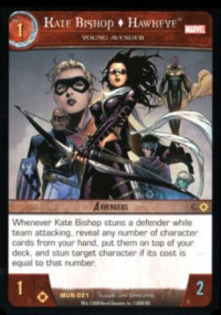 Kate Bishop, Hawkeye, Young Avenger
