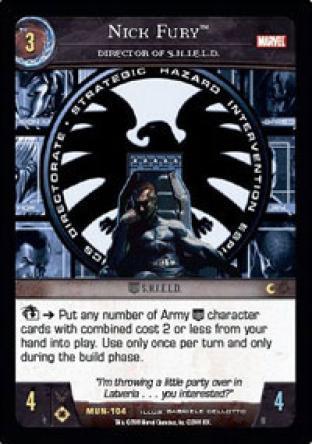 Nick Fury, Director of S.H.I.E.L.D.