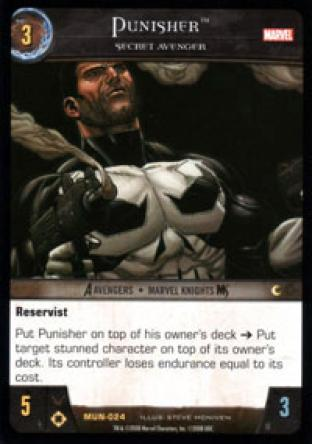 Punisher, Secret Avenger