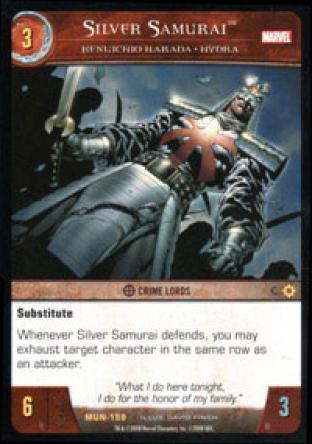 Silver Samurai, Kenuichio Harada - HYDRA