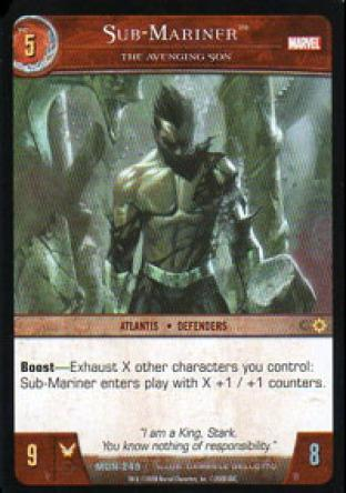 Sub-Mariner, The Avenging Son