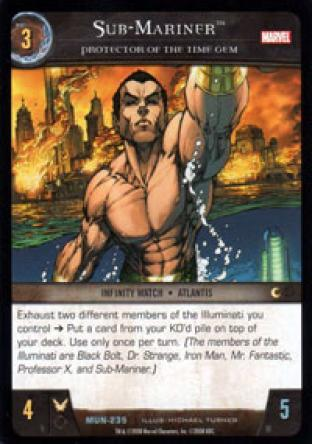 Sub-Mariner, Protector of the Time Gem