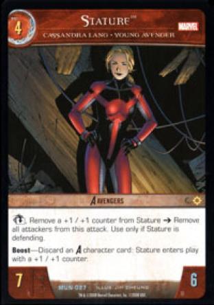 Stature, Cassandra Lang - Young Avenger