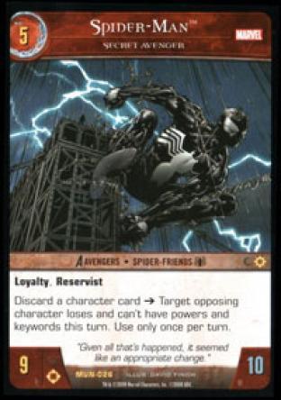 Spider-Man, Secret Avenger