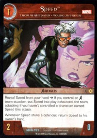 Speed, Thomas Shepard - Young Avenger