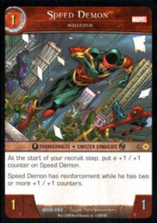 Speed Demon, Whizzer