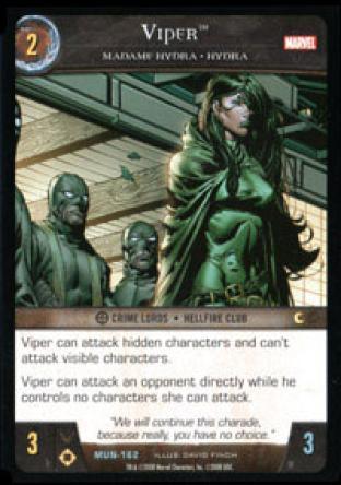 Viper, Madame Hydra - HYDRA