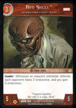 Red Skull, Aleksander Lukin - RAID