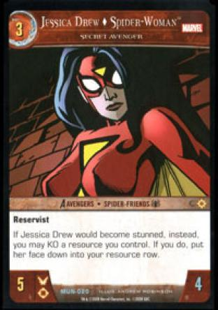 Jessica Drew, Spider-Woman, Secret Avenger